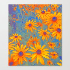 Beautiful Wild Summer Canvas Print