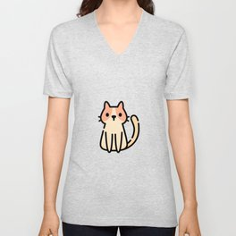 Just a Cute Cat Unisex V-Neck