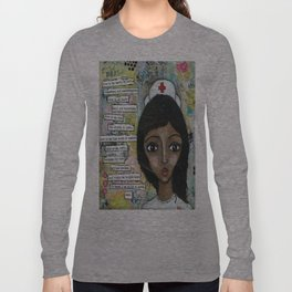Nurse - African American  Long Sleeve T-shirt