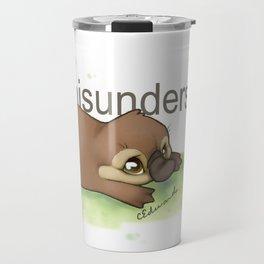 Misunderstood Platypus Travel Mug