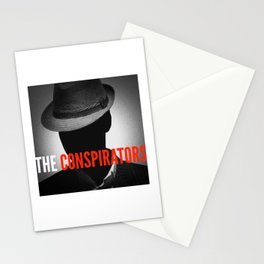 The Conspirators Podcast Show Art Stationery Cards