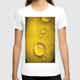 Yellow drop T-shirt