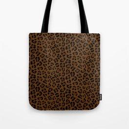 Leopard Print - Dark Tote Bag