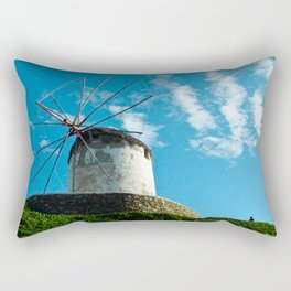 Old Windmill Rectangular Pillow