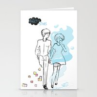 tfios Stationery Cards featuring TFIOS  by swiftstore