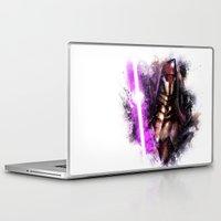 darth Laptop & iPad Skins featuring Darth Revan by Vincent Vernacatola