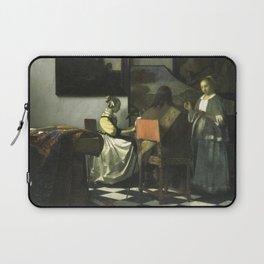 Stolen Art - The Concert by Johannes Vermeer Laptop Sleeve