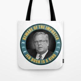 Jeb Bush Is A RINO Tote Bag