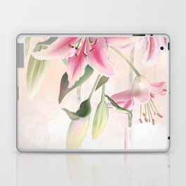 Blush lilium Laptop & iPad Skin