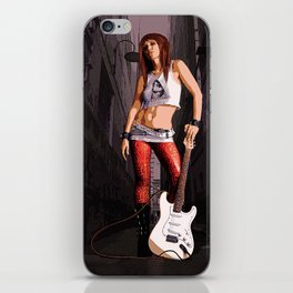 Mush - Grunge Rocker iPhone Skin