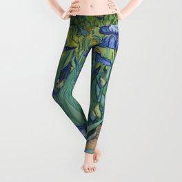 Vincent van Gogh's Irises Leggings