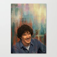 top gear Canvas Prints featuring Top gear-batch by addigni