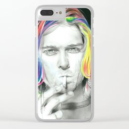 'Cigarette Burns' Clear iPhone Case