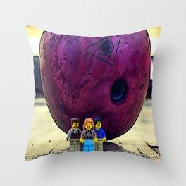 The dude abides - The Big Legowski Throw Pillow