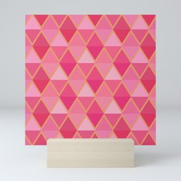 Pink and Gold Mini Art Print