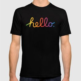 Hello — A tribute to Apple T-shirt