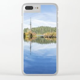 The Snag at Clear Lake Clear iPhone Case