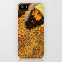 Mr EBENEZER iPhone Case