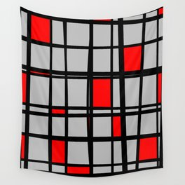 Gridlock - Abstract Wall Tapestry