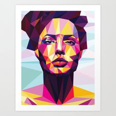 Colorful dream Art Print
