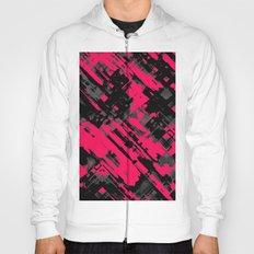 Hot pink and black digital art G75 Hoody