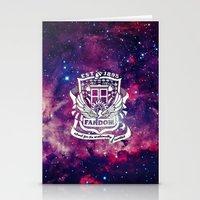 fandom Stationery Cards featuring Galaxy Fandom Academy by Thg Fashion