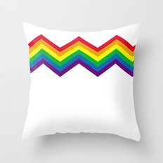 Rainbow 1 Throw Pillow
