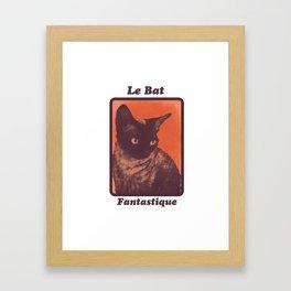Le Bat Fantastique Framed Art Print