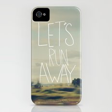 Let's Run Away iPhone (4, 4s) Slim Case
