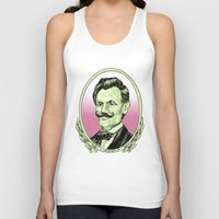 lincoln Tank Tops featuring Lincoln by Esteban Ruiz