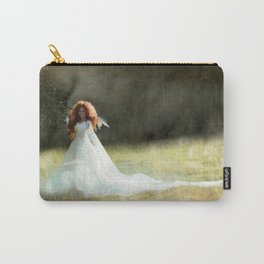 White Fairy Carry-All Pouch
