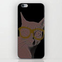 Yoshi Cat Glasses iPhone Skin