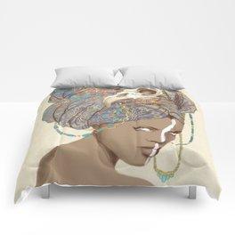 Queen of Clubs Comforters