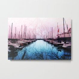 Bring In The Boats Metal Print