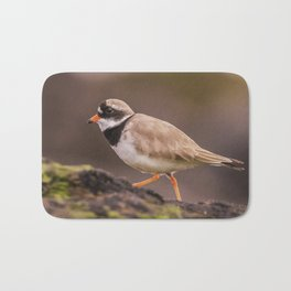 The little Ringed Plover Bath Mat