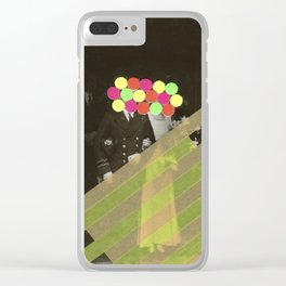 Fluo Union Clear iPhone Case