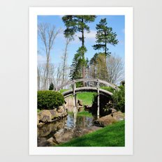 A bridge not too far... Art Print