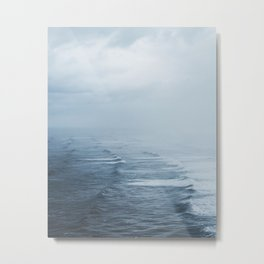Storms over the Pacific Ocean Metal Print