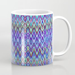 Missoni Style Blue Coffee Mug