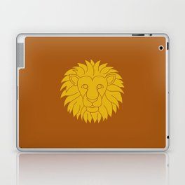 Leo Zodiac / Lion Star Sign Poster Laptop & iPad Skin