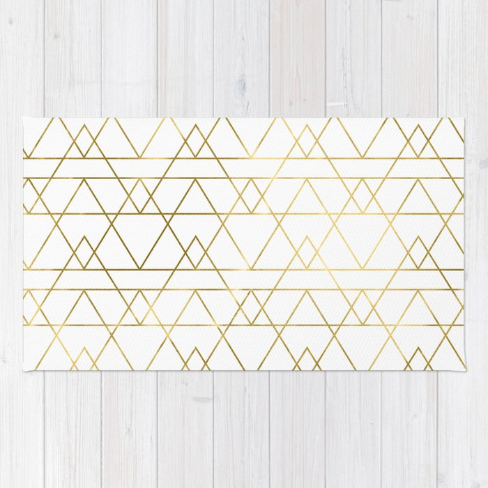 Modern Gold Rug