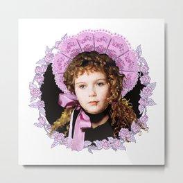 Vampire Child Claudia Metal Print