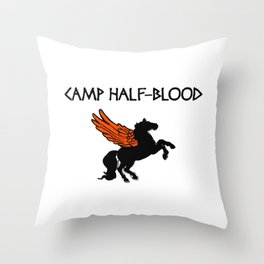 Camp Half-Blood Wings Throw Pillow