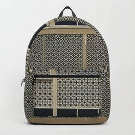 The Wall pattern Backpack