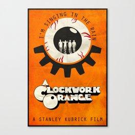 Singin' In The Rain - A Clockwork Orange Poster Canvas Print