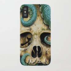 Tentacle skull iPhone X Slim Case