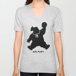 Air Puft: Stay Puft Marshmallow Man Unisex V-Neck