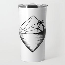 Triangle paradis 2 Travel Mug