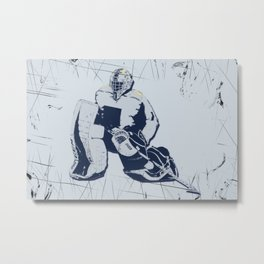 Pro Goalie - Ice Hockey Metal Print