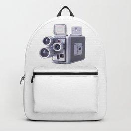 Vintage Camera 16mm Backpack
